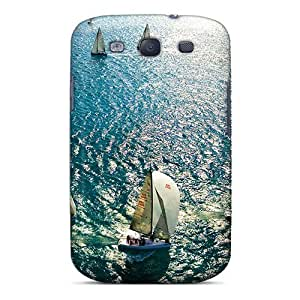 Awesome MHicpQj947GCGrD Mwaerke Defender Tpu Hard Case Cover For Galaxy S3- Summer Sails by lolosakes