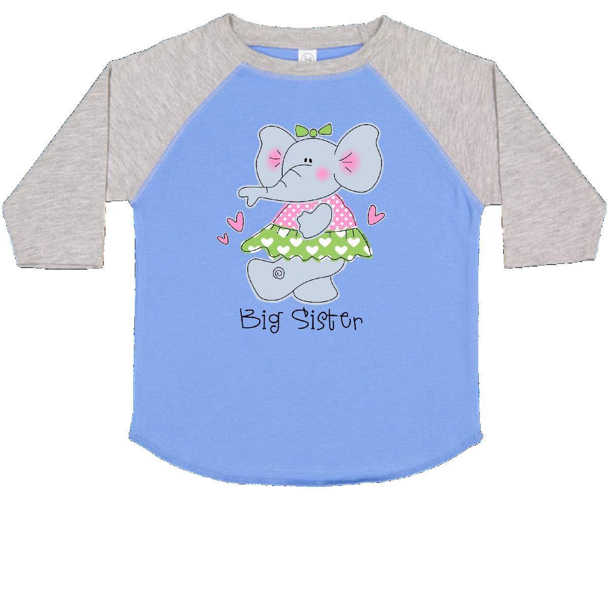 inktastic Elephant Big Sister Toddler T-Shirt