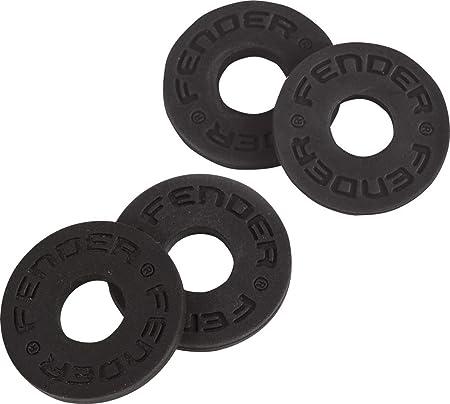 Fender ストラップロック Fender® Strap Blocks 4-Pack, Black
