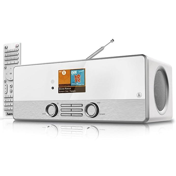 Hama DIR3110 - Radio de Internet, Blanco