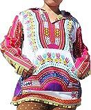RaanPahMuang Brand Thin Bright Dashiki Windbreaker