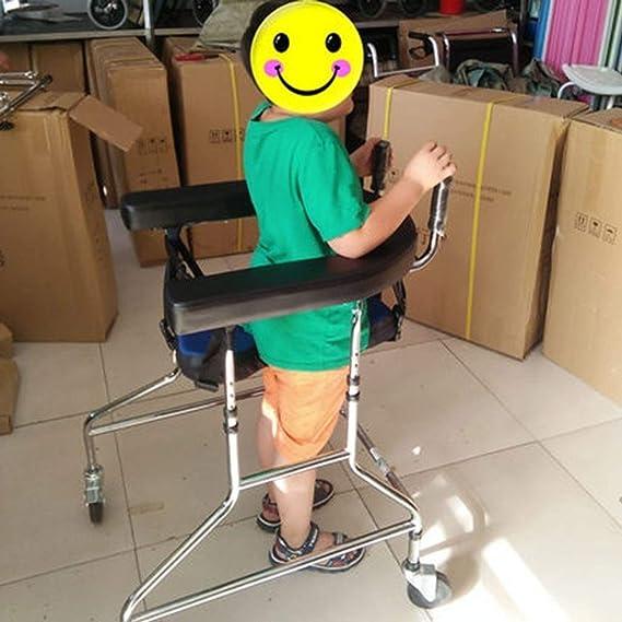 Andador estándar para caminar alto y bajo, ajustable, cerebral ...