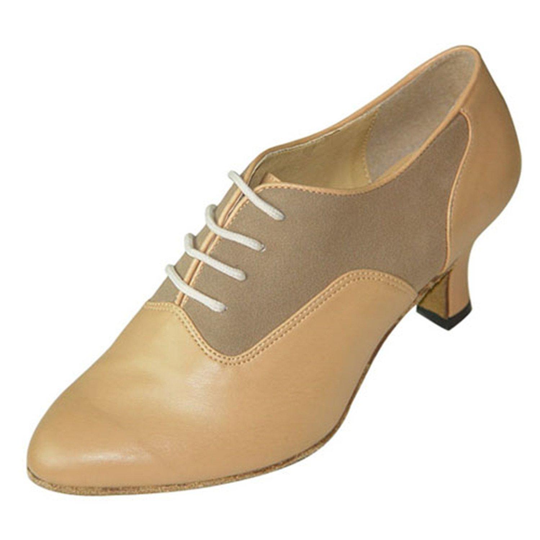 - YFF Cadeaux femmes Dance danse danse latine Dance Tango chaussures 5CM,marron,36