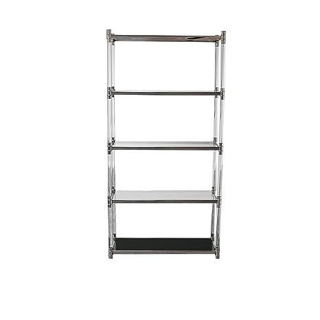 Amazon.com: RMG Fine Imports Varossi Etagere Bookcase, Acero ...
