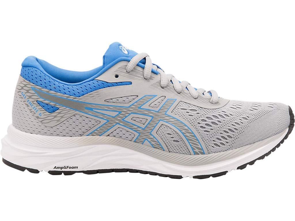 ASICS Women's Gel-Excite 6 Running Shoes, 5.5M, MID Grey/Blue Coast