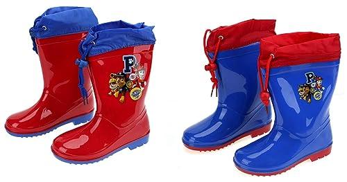 c36dabb2951aa Bottes de pluie Pat Patrouille Rouge  Amazon.fr  Chaussures et Sacs
