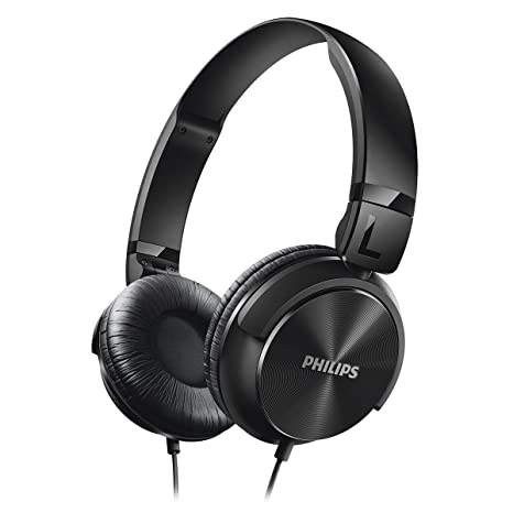 1b7daacca6b Amazon.com: Philips SHL3060BK/28 Philips SHL3060BK/28 DJ Style Headphones  Black: Home Audio & Theater