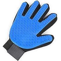 Pet Grooming Glove - Gentle Deshedding Brush Glove - Efficient Pet Hair Remover Mitt - Improved Five Fingers Design…