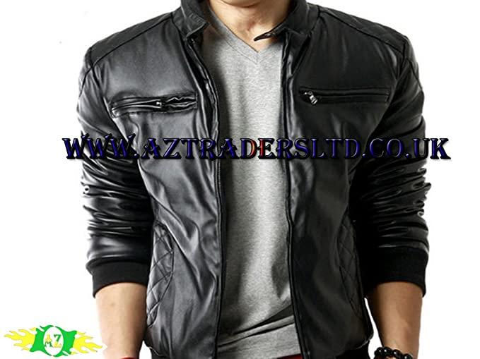 AZ Importers - Chaqueta - Básico - para hombre Negro negro xx-large