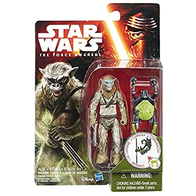 Star Wars: The Force Awakens 3.75 inch Hassk Thug: Toys & Games