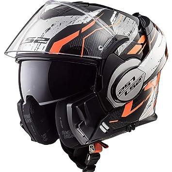 LS2 FF399 Cascos modulares de Moto Motocicleta Bicicleta ...