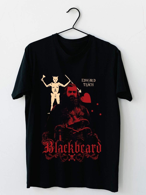 Black Sails Blackbeard 36 T Shirt For Unisex