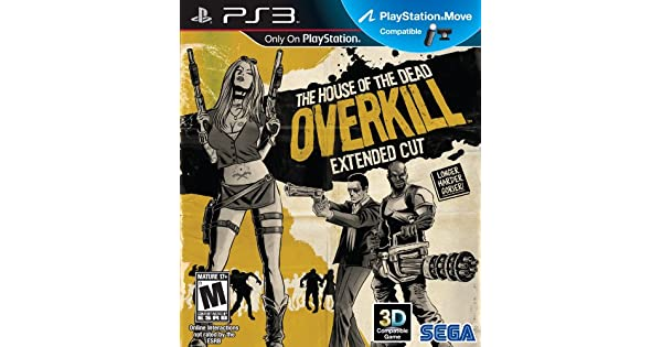 Amazon Com House Of The Dead Overkill Extended Cut Playstation 3 Video Games