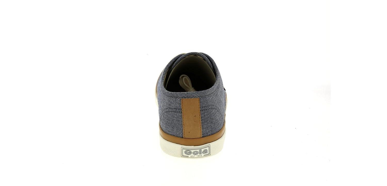 Gola Seeker CMA254DG-zapatillas deportivas para hombre, Gris (Gris, blanc et marron), 42