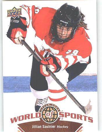 2010 Upper Deck World Of Sports Trading Card 161 Jillian Saulnier