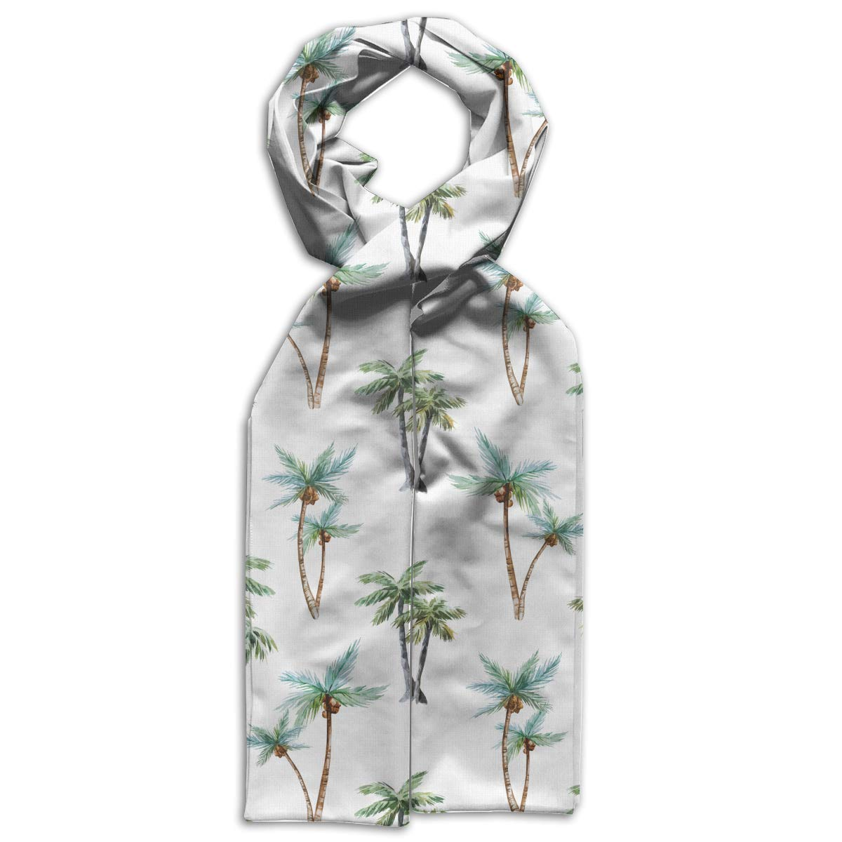 Coconut Tree Kids Printed Scarf Cute Winter Infinity Scarf Warmer Travel Scarf For Kids Perfect Birthday Gift