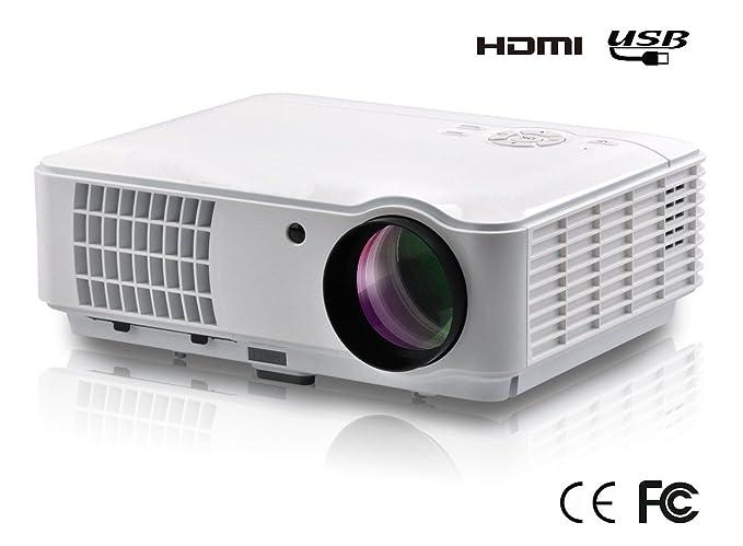 FR X800 4000 lúmenes HD Proyector 7000: 1 cine en casa 1080P HDMI ...