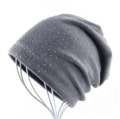 Sombreros de Moda Mujeres Gorros para Mujer Ocasional Gorro de ...