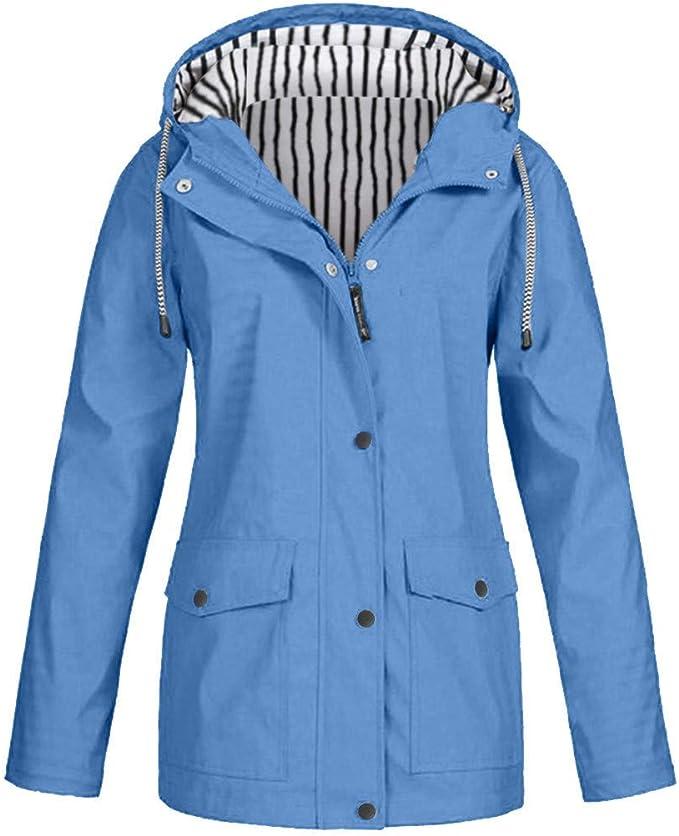 FRAUIT regenjas dames oversized regenjas waterdichte outwear