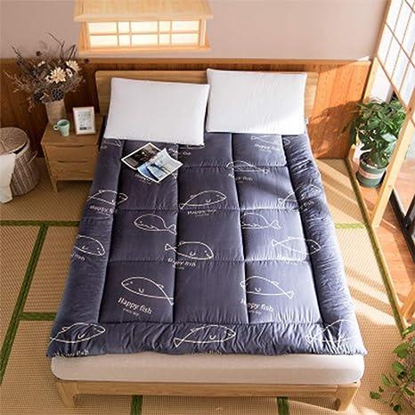 Amazon.com: Colchón de suelo de futón transpirable ...