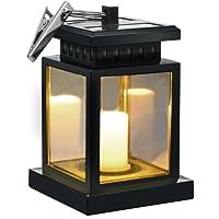 Solar Umbrella Lights   Sunklly Waterproof Led Handing Candle Lantern For  Garden,Patio,Lawn