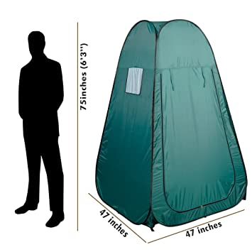 Kseven Portable Pop Up Changing Tent - Green Cabana Fishing Bathing Toilet C&ing Private Dressing Room  sc 1 st  Amazon.com & Amazon.com: Kseven Portable Pop Up Changing Tent - Green Cabana ...
