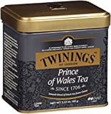 Twinings of London Prince of Wales Loose Tea Tin, 3.53 Ounce