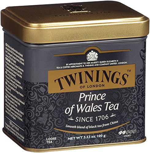 (Twinings of London Prince of Wales Loose Tea Tin, 3.53 Ounce)