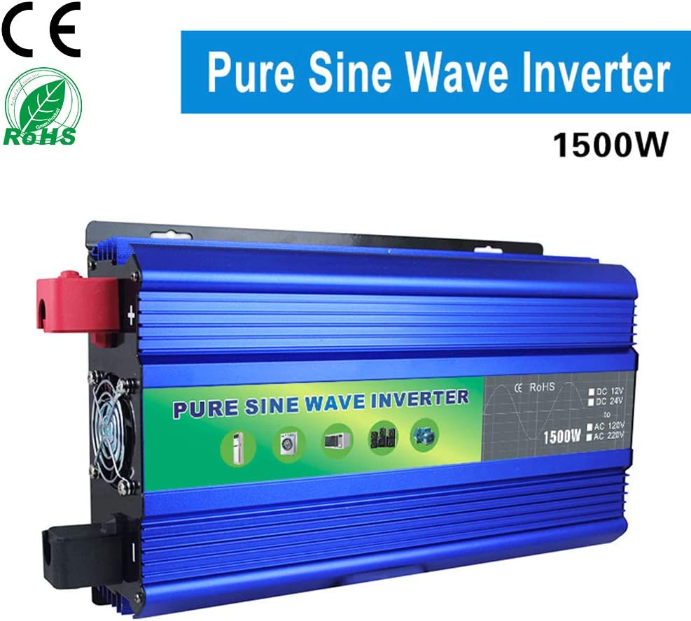 KDDD Durable Solar Power Inverter 10000W Peak DC 48V to AC 220V Modified Sine Wave Converter with Voltage Display Quality Products Phone