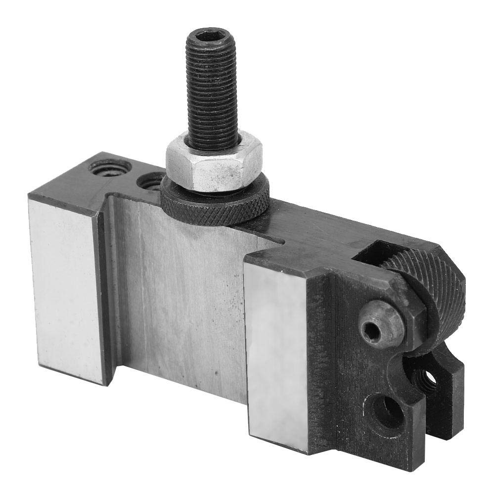 Tool Post Quick Change Post Universal Parting Blade Tool Holder Knurling Turning Facing Quick Change CNC Lathe Tool Post Holder