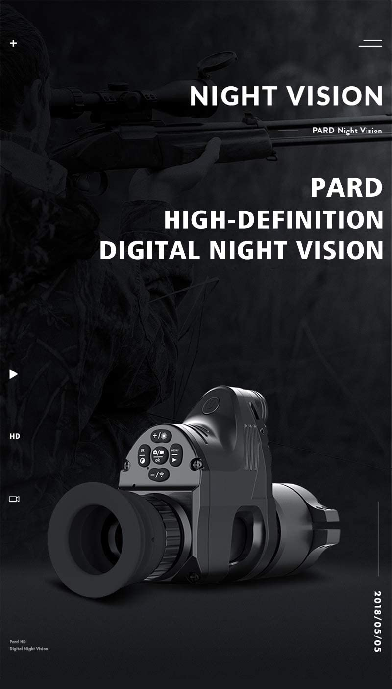 PARD NV 007 night vision SET OF REDUCTIONS 6pcs for 45mm RING MOUNT 37mm-45mm