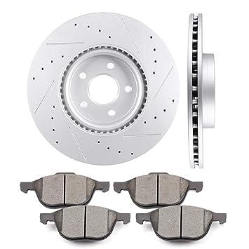 Front Ceramic Disc Brake Pad Kit Set for Ford Escape Transit Connect Van New