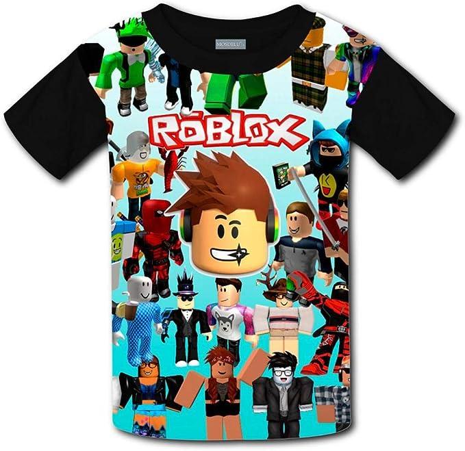 Amazon Com Owen Wilkins Kids Youth Dabbing Ro Blox T Shirts 3d