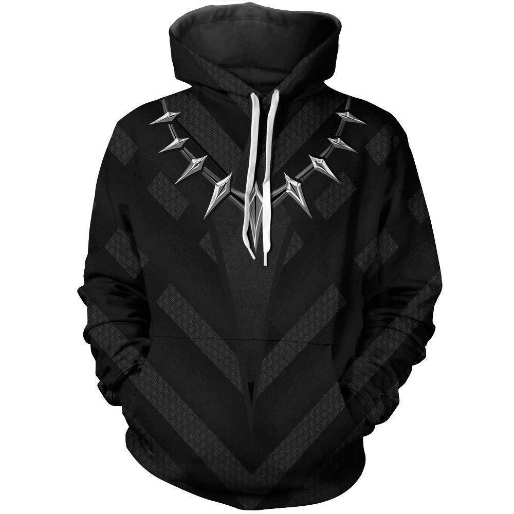 TOYSSKYR Iron Spiderman Erwachsene Kleidung Print Hoodie Sweatshirt (Farbe   Schwarz-2, größe   XXXL) B07NQD1VDG Kostüme für Erwachsene Kaufen  | Up-to-date Styling