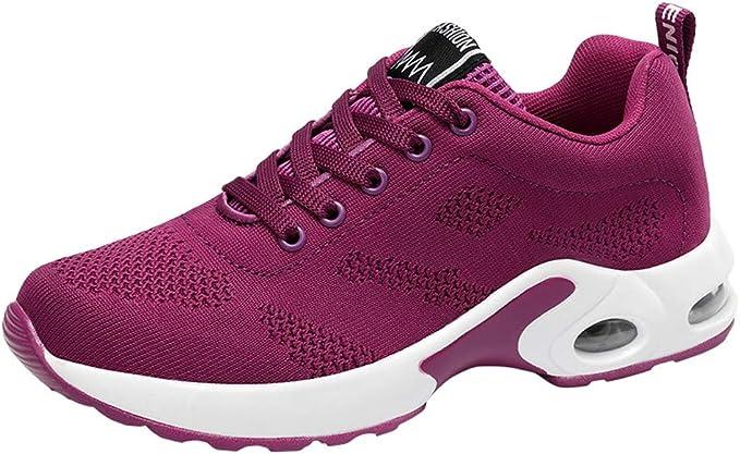 Zapatos Planos Deportes para Mujer,Sonnena Zapatos Respirables ...