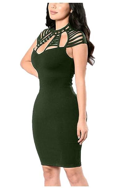 Amazon.com: Goddessvan Vestido de cóctel para mujer, sexy ...