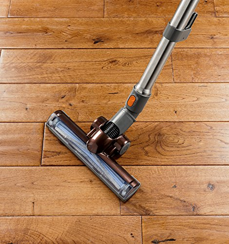 Bissell Hard Floor Expert Multi-Cyclonic Bagless Canister Vacuum - in use on hardwoods 2