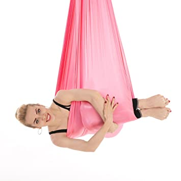 EASON Aérea Hamaca Yoga, antigravedad Yoga Swing Cinturón ...