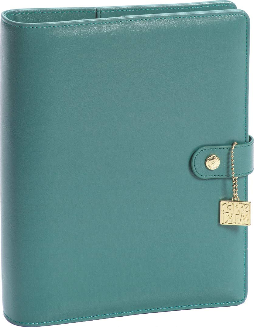 Simple Stories SSCDA5-10441 Carpe Diem A5 Planner-Teal, by Simple Stories