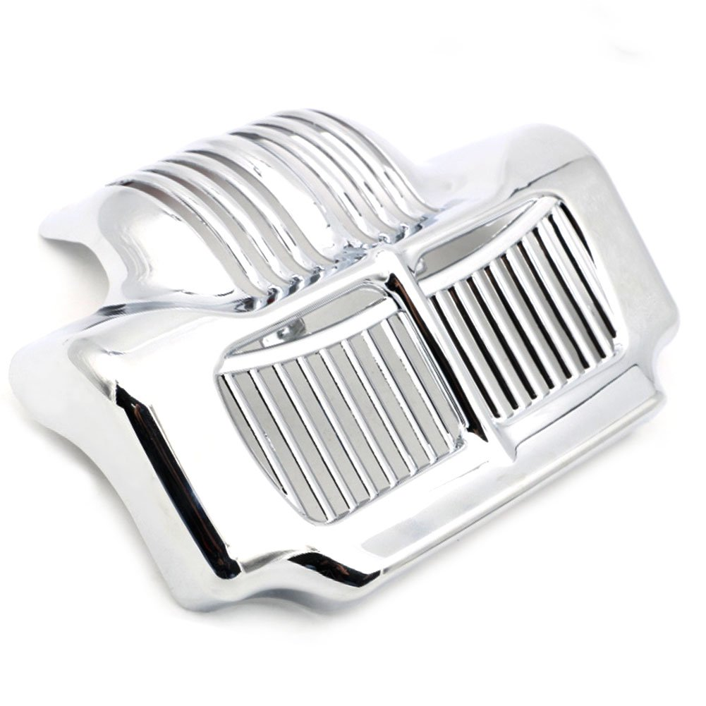 Motofans Chrome Stock Oil Cooler Cover for Harley Touring Electra Road Street Glide Road Glide Road King 11-13 M218-3-C