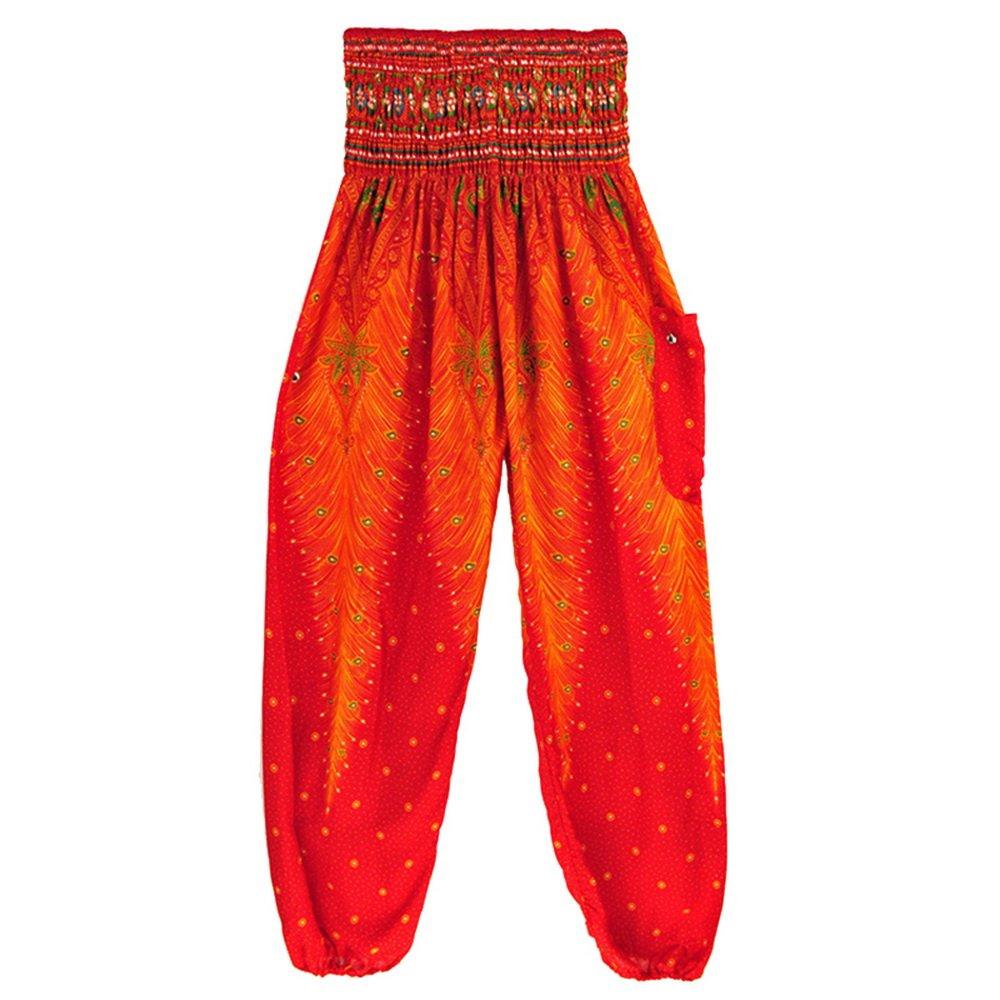 Dihope Femme Sarouel Pantalon Taille Élastique Longue Bouffant Palazzo  Casual Hip-hop Pants pour Yoga Fitness  Amazon.fr  Vêtements et accessoires dc49a0c0122