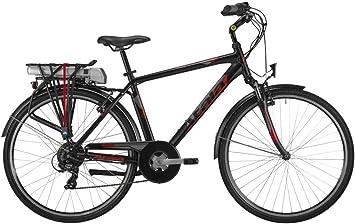 Atala Bicicleta eléctrica E-Bike Trekking Front Rueda 28 Run FS ...