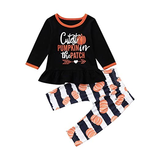 Size 6-12 Months Outfits & Sets Girls' Clothing (newborn-5t) Girls Pumpkin Patch Outfit