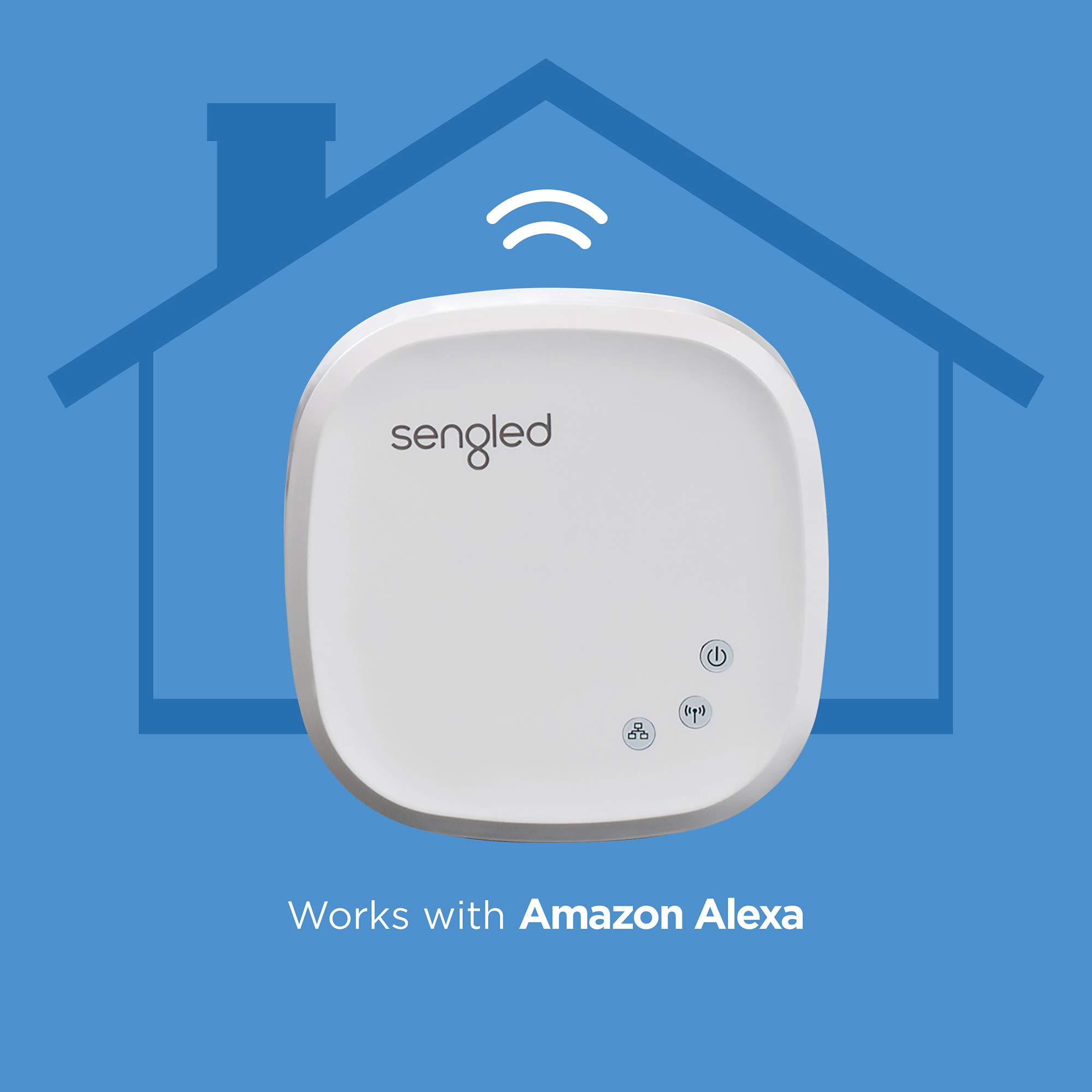 Sengled Smart Hub, For Use with Sengled Smart Products, Compatible with Alexa and Google Assistant by Sengled (Image #2)