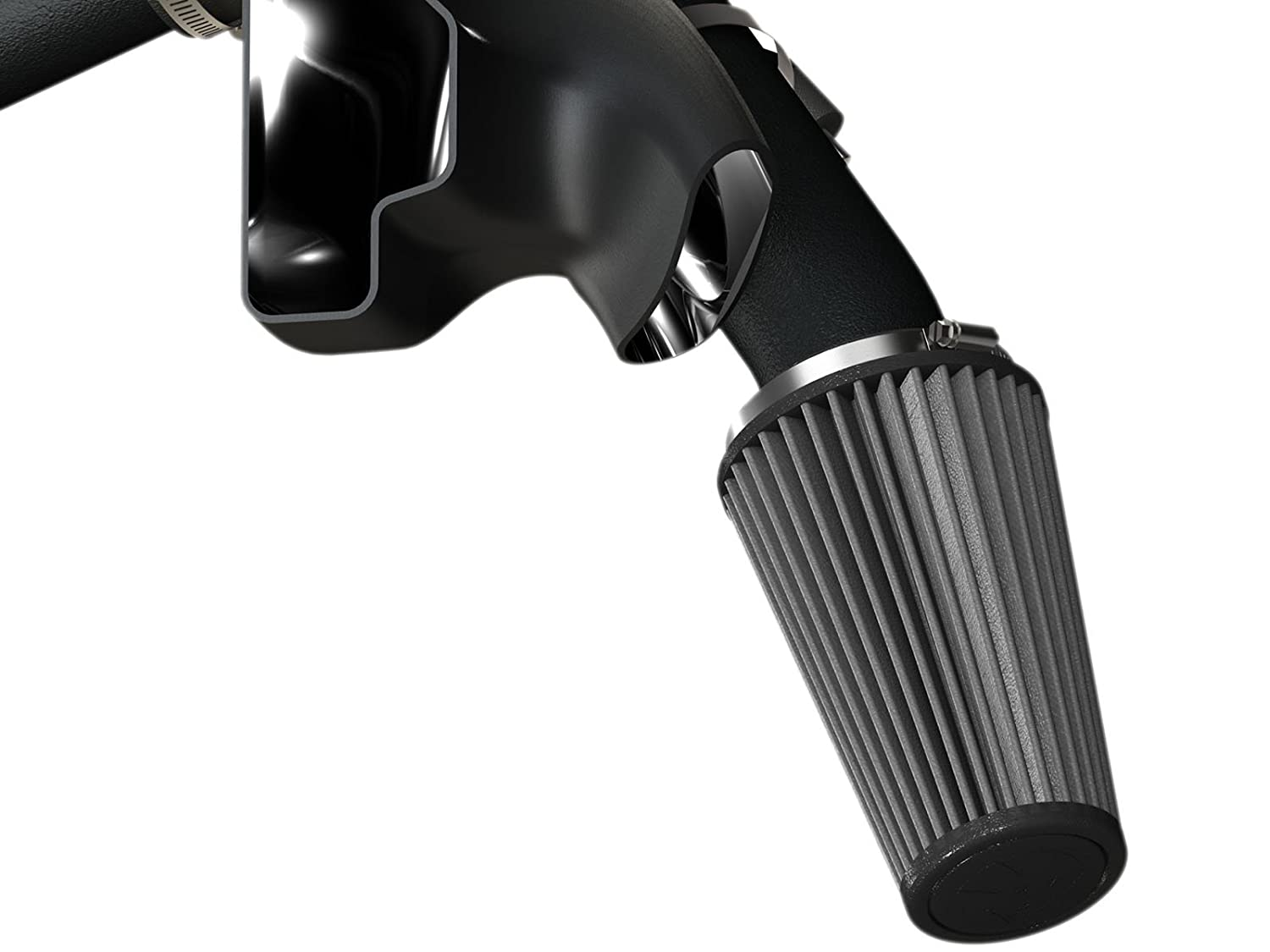 AFE Filters Dry, 3-Layer Filter aFe Power 51-12822 Magnum Force Ford Mustang EcoBoost Performance Intake System