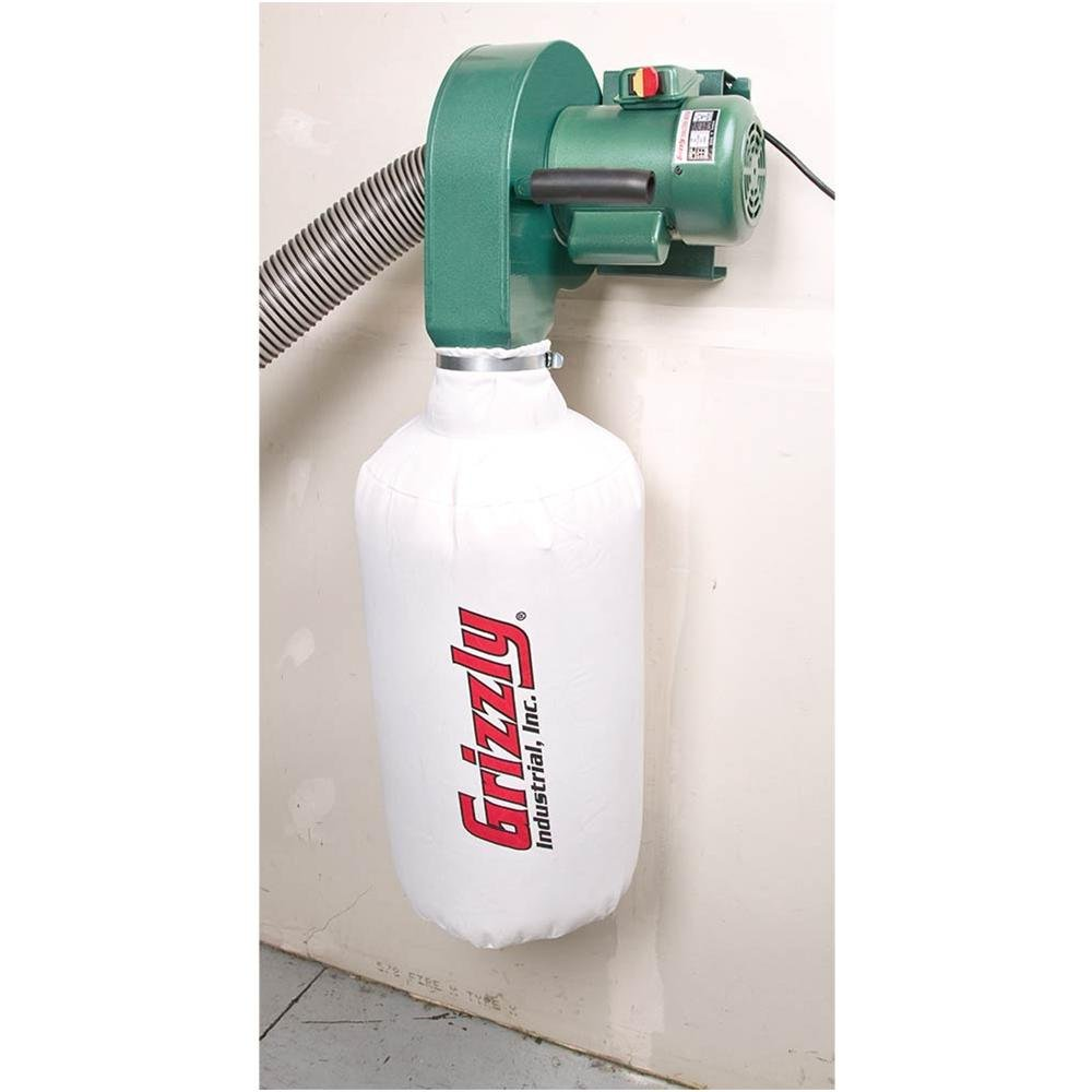 Grizzly G0710 1 HP Wall Hanging Dust Collector
