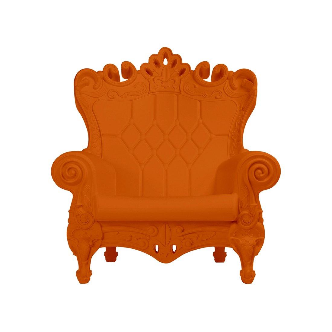 Design of Love - Slide Design - Little Queen of Love Baby armchair Pumpkin Orange (Original made in Italy)