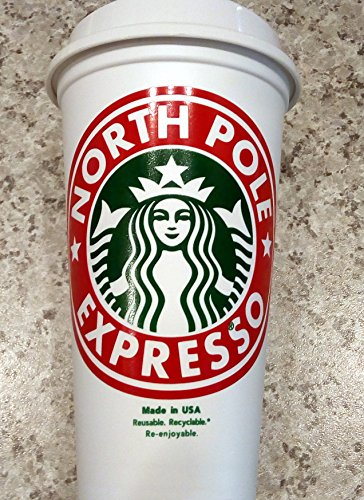 Christmas Holiday Santa's North Pole Expresso STARBUCK's 16