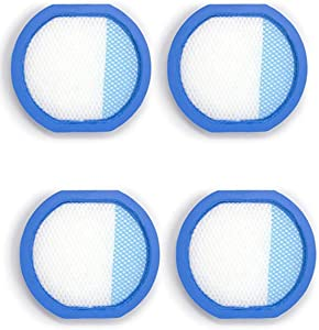 Fette Filter - Cordless Vacuum Filter Compatible with Hoover React Whole Home & Hoover Fusion Cordless Vacuums. Compare to Part # 440011434. (4 Pack)
