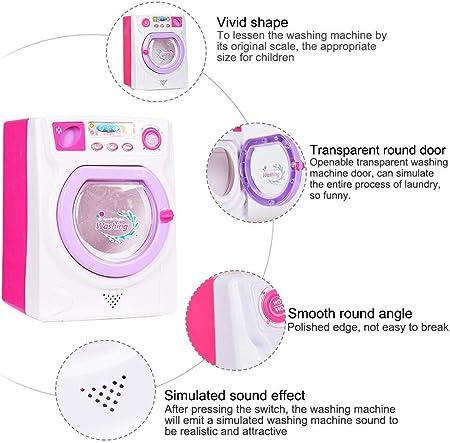 Dough.Q Lavadora electrónica Modelo de Juguete con luz y Sonido.